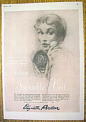 1953 Ardena Invisible Veil with Lovely Woman (Image1)