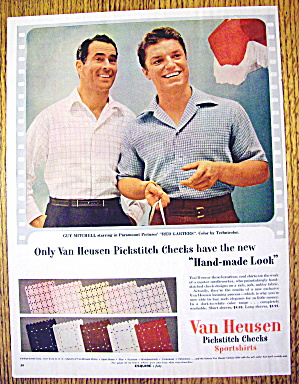 1954 Van Heusen Sports Shirts with Guy Mtchell (Image1)