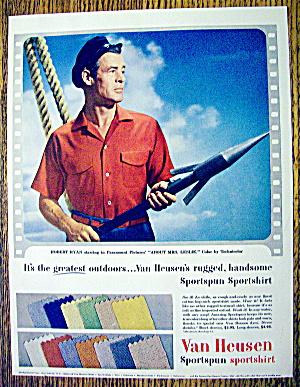 1954 Van Heusen Sport Shirt with Robert Ryan (Image1)