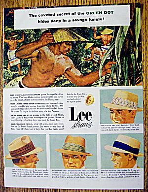 1954 Lee Straw Hats with Savage Jungle (Image1)