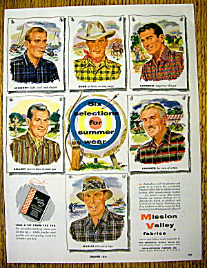 1954 Mission Valley Fabrics with Summer Wear (Image1)