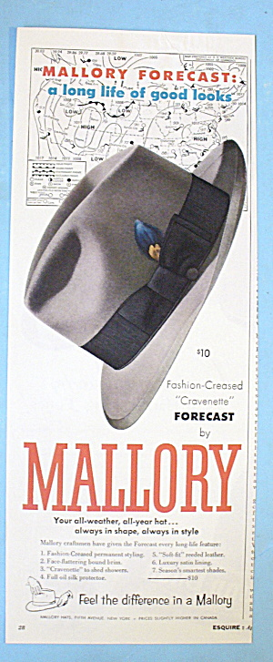 1954 Mallory Hats with Forecast (Image1)