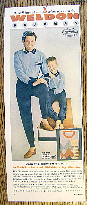 1954 Weldon Pajamas With John & Steven Raitt