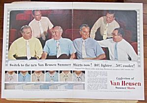 1954 Van Heusen Shirts With Summer Shirts  (Image1)