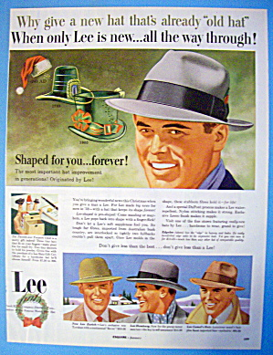 1954 Lee Hats With Zurich, Homburg & Camel's Hair Hats (Image1)