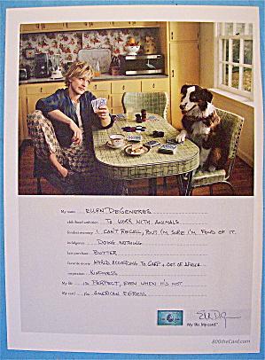 2007 American Express with Ellen Degeneres (Image1)