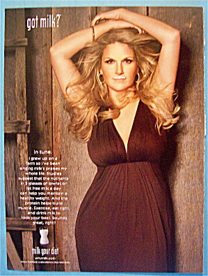 2008 Got Milk With Country Singer Trisha Yearwood