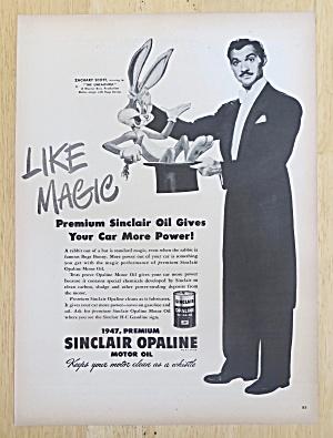1947 Sinclair Opaline with Zachary Scott & Bugs Bunny (Image1)