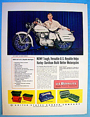 1952 U.S. Royalite with Harley Davidson K Motorcycle (Image1)