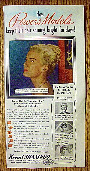 1945 Kreml Shampoo with Powers Models (Joan Crestwell) (Image1)