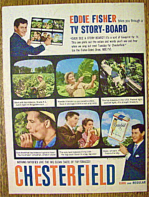1958 Chesterfield Cigarettes with Eddie Fisher (Image1)