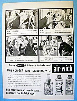 1958 Air Wick Deodorizer with Cartoon (Image1)