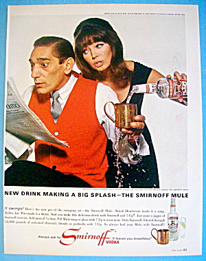 1965 Smirnoff Vodka With Killer Joe Piro & Partner
