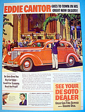 1938 De Soto with Actor Eddie Cantor (Image1)