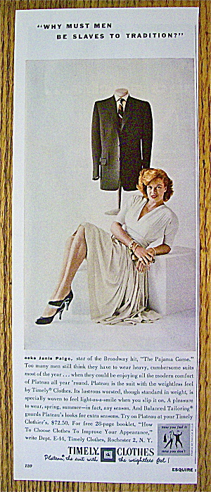 1955 Timely Clothes with Janis Paige (Image1)