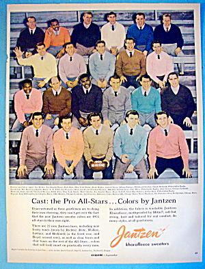 1955 Jantzen with Pro Football All Stars (Image1)