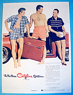 1955 Catalina Sportswear W/hirsch, Waterfield/brocklin