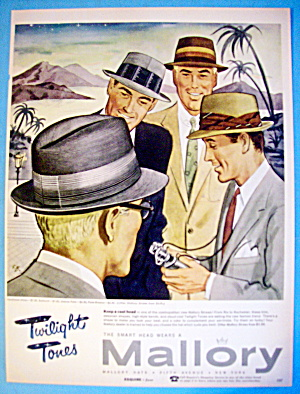 1956 Mallory Hats with Milan, Umbria Palm & Pana Breeza (Image1)