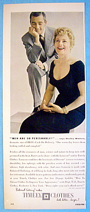 1956 Timely Clothes with Shelley Winters (Image1)