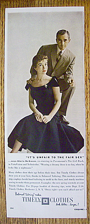 1956 Timely Clothes with Gloria De Haven (Image1)
