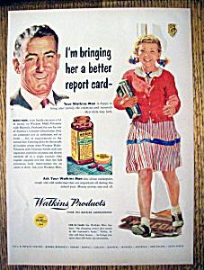 Vintage Ad: 1953 Watkins Products (Image1)