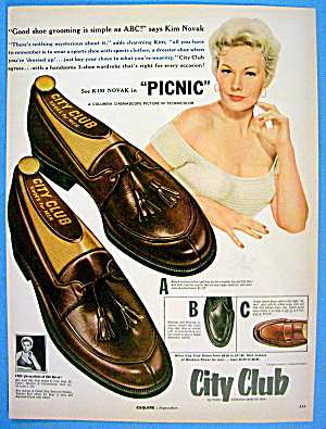 1955 City Club Shoes with Kim Novak (Image1)