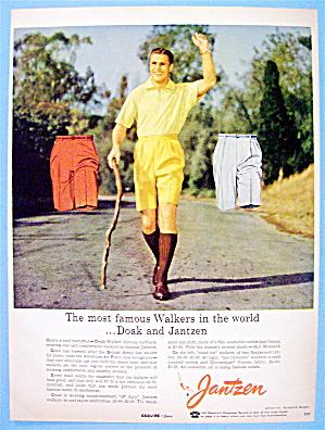 1956 Jantzen Walkers with Famous Halfback Doak Walker (Image1)