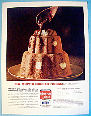 1963 Carnation Milk with Whipped Chocolate Pudding (Image1)