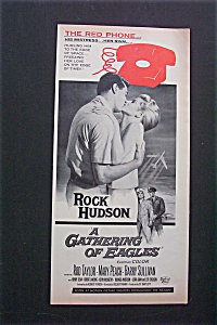 1963 A Gathering Of Eagles With Rock Hudson