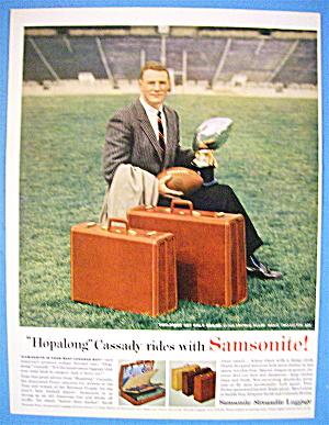 1956 Samsonite Luggage with Football's Hopalong Cassady (Image1)
