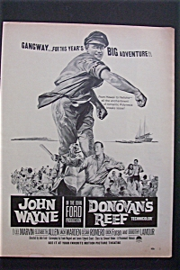 1963 Donovan's Reef With John Wayne