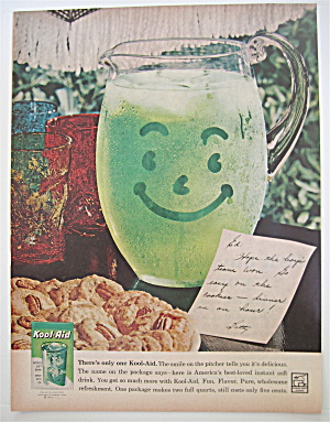 1960 Kool-Aid with Pitcher & A Note To Ed (Image1)