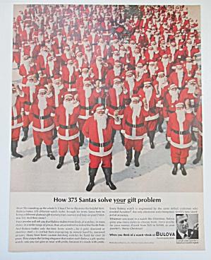1963 Bulova Watch with 375 Santas  (Image1)