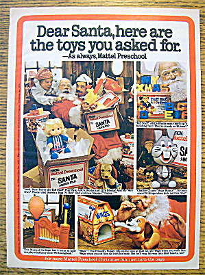 1979 Mattel Toys With Musical Calliope & More