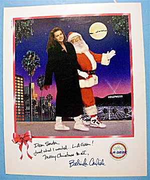 1988 L. A. Gear With Belinda Carlisle & Santa