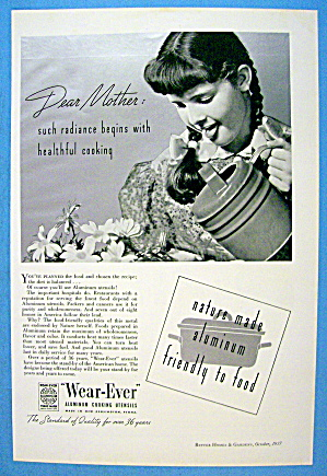 1937 Wear - Ever w/ Girl Watering Flowers (Image1)