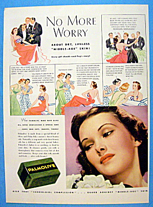 1937 Palmolive Soap with No More Worry (Image1)