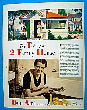 1937 Bon Ami w/ 2 Family House (Image1)