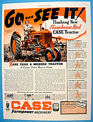 1939 Case Farmpower w/ Red Tractor (Image1)