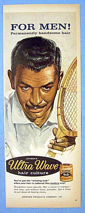 1966 Ultra Wave Hair Culture with Man & Tennis Racket (Image1)