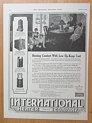 1922 International Heater Company w/Family Around Table (Image1)