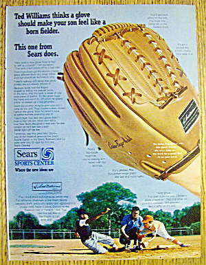 1969 Sears Sports Center With Ted Williams