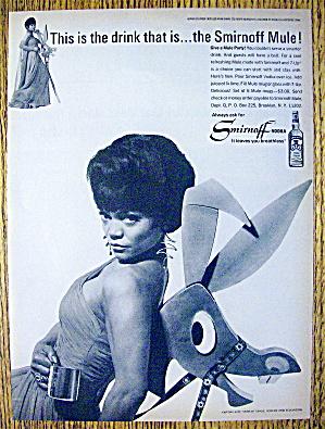 1966 Smirnoff Vodka with Eartha Kitt (Catwoman) (Image1)