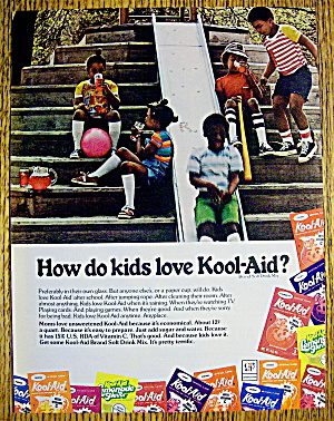 1977 Kool Aid With Children Playing & Drinking
