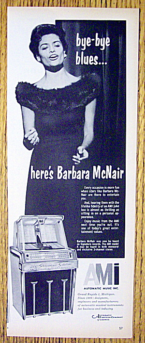 1960 Automatic Music With Barbara Mcnair