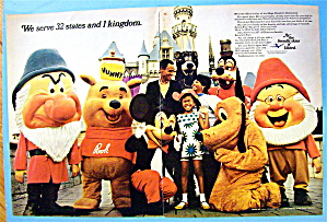 1969 United Airlines with Disneyland & Magic Kingdom (Image1)
