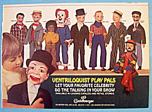 1981 Ventriloquist Play Pals with Little Boy & Puppets (Image1)