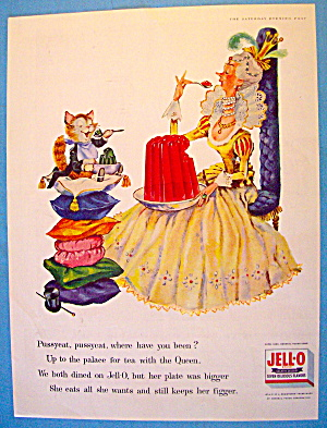 1956 Jell-o With Pussycat, Pussycat