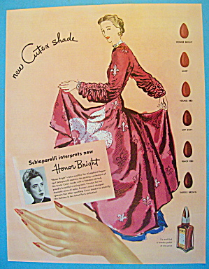 1945 Cutex Nail Polish with Lovely Woman (Image1)