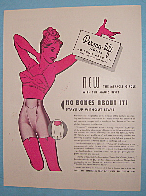 1946 Perma Lift Panties with Lovely Woman (Image1)